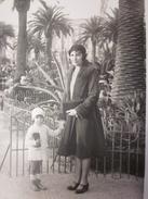 PAVILLON ARTISTIQUE JARDIN ALBERT 1ER à NICE Photographie Originale RPPC Réal Photo Post Card - Persone Identificate