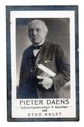 Image Mortuaire AALST Volksvertegenwoordiger En Raadsheer Pieter Daens 1842 - 1918