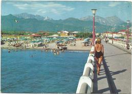 T1910 Forte Dei Marmi (Lucca) - Panorama Dal Pontile - Ragazza Girl Femme Frau Chica / Viaggiata 1966 - Other Cities