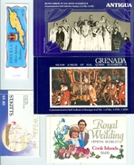 BRITISH COLONIES LOT Of 11 Complete BOOKLETS MNH Royals Diana Jubilee More  All Cpl Bklts WYSIWYG A04s