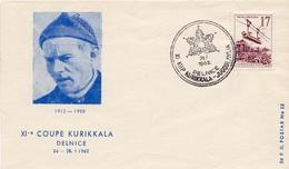 1962 - Yougoslavie - Sport D'hiver - Ski - 11e Coupe KURIKKALA à Delnice Le 26 Janvier 1962 - Tp N° 760 - Covers & Documents