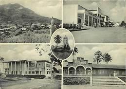 -cpsm -ref :T584- Cameroun - Region Du Mungo - Nkongsamba - Carte Bon Etat   - - Cameroun