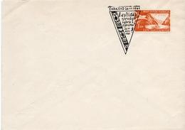 1961 - Yougoslavie - Festival De Danse à Sarajevo Du 26/7 Au 20/8 1961 - Tp Aérien N°32 - Covers & Documents