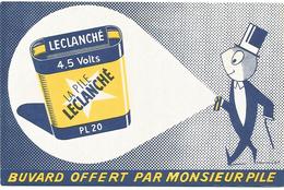 BUVARD LA PILE LECLANCHE - Blotters