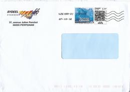 Montimbramoi 1.11€ Code QR Evasion Vague Bleue Toshiba 42618A-01 Lettre Verte 50 Gr - France