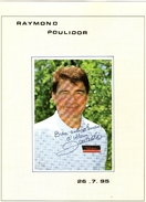 Autographe De Raymond Poulidor 1995 - Autographes