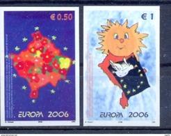 KOS 2006-43-4U EUROPA CEPT, KOSOVO,1 X 2v , INPERFORATED MNH - Kosovo