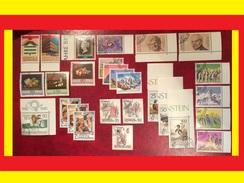 Liechtenstein ** 1990 Jahrgang Komplett Nach Michelkatalog Katalog 37,00 - Liechtenstein