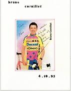 Autographe De  Bruno Cornillet 1995 - Autographes