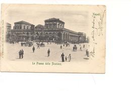 M4022 CAMPANIA  Napoli Stazione 1903 Viaggiata - Napoli (Napels)