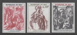 SERIE NEUVE DU MALI - GRAVURES D'ALBRECHT DÜRER (NOËL 1978) N° Y&T PA 346 A 348