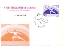 SAN MARINO RICCIONE  CHAMPIONSHIP  SCHERMA (GEN170016) - Scherma