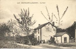 58 - CHATILLON En BAZOIS  -  La Gare - Chatillon En Bazois