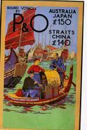 "PUBLICITE   L 57  ""  P & O    CPM / CPSM  10 X 15 - Advertising"