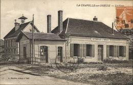 89 - LA CHAPELLE Sur OREUSE  - La Gare - France