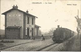 89 - CHAMPLAY -  La Gare - France