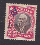 Liberia, Scott #O87, Mint Hinged, President Barclay Surcharged And Overprinted, Issued 1915 - Liberia