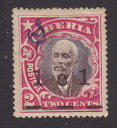 Liberia, Scott #O87, Mint No Gum, President Barclay Surcharged And Overprinted, Issued 1915 - Liberia