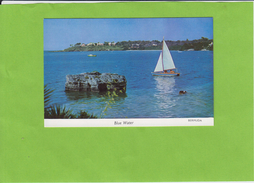 BERMUDA  -  BLUE  WATER  - - Bermudes