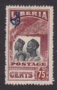 Liberia, Scott #O107, Mint No Gum, Mandingos Overprinted, Issued 1918 - Liberia