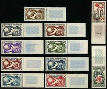 1958 - 10eme ANNIVERSAIRE DECLARATION DES DROITS DE L'HOMME - SERIE COMPLETE 11 TIMBRES NEUFS ** - Joint Issues