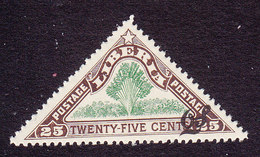 Liberia, Scott #O104, Mint Hinged, Traveler's Tree Overprinted, Issued 1918 - Liberia