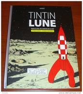 Tintin Et La Lune Édition Collector Deux Albums Objectif Lune Et On A Marché Sur La Lune Avec 16 Pages D´Archives - Tintin
