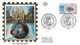 Env Fdc 24/9/94 Paris,  N°2904, Conservatoire National Des Arts Et Métiers, Pendule De Foucault - FDC
