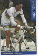 MARIO  CIPOLLINI   CHAMPION DU MONDE   SERIE SPRINT 2005  N°64 - Cyclisme