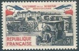 """Yt 1429 """" Victoire De La Marne """" 1964 Neuf** - France"""