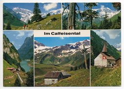 CALFEISENTAL Gel. 1980 V. Vättis Foto Fetzer Ragaz - SG St-Gall