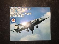 17 - Plaquette Air Raft Of The RAF 1970 - Armée Britannique