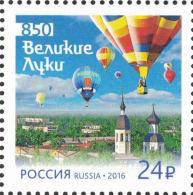 2016 1v Russia Russland Russie Rusia 850th Ann Velikiye Luki. Balloon Festival  Mi 2326 MNH ** - Ungebraucht