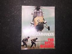17 - Plaquette Britain's Commandos Thé Royal Marines - Brits Leger