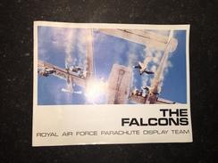 17 - Plaquette Parachutisme Thé Flacons RAF Parachute Display Team - Armée Britannique