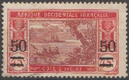 Côte D'Ivoire 1934-35 N° 106  (D23) - Used Stamps
