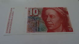 Suisse/Swiss : 10 Francs Leonhard Euler Neuf/UNC - Suiza