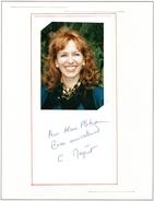 Autographe De  C  Megret - Autographes