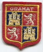 écusson En Tissus Brodées - GRAMAT - 46 Lot - Blazoenen (textiel)