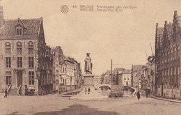 Brugge, Bruges, Standbeeld Jan Van Eyck (pk31918) - Brugge