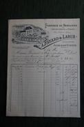 Facture Ancienne - AIXE Sur VIENNE - Fabrique De Romaines Et Instruments De Pesage. A.FAYARD Et LARUE - 1800 – 1899