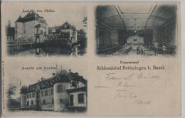 Schlosshotel Bottmingen Bei Basel - Ansicht V. Süden, Norden, Concertsaal - BL Bâle-Campagne