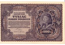 3 Billets Polonais 1000 Marek Type Koscivszko 23 Aout 1919 - Pologne