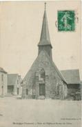 Saint Léger - Place De L'Eglise Et Bureau De Tabac - Autres Communes