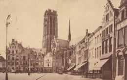 Mechelen, Malines, Coin De La Grand' Place Et Cathédrale St Rombaut, St Romboutskerk (pk31937) - Malines