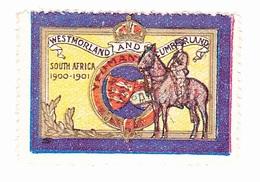 Vignette Militaire Delandre - Angleterre - Westmorland And Tumberland - South Africa - Erinnofilia