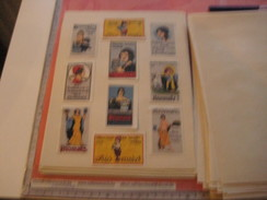 20 Poster Stamp Advertising BIOMALZ Litho ART Color Changes All Different  Very Good Variants - Usines & Industries