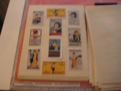 20 Poster Stamp Advertising BIOMALZ Litho ART Color Changes All Different  Very Good Variants - Fabrieken En Industrieën
