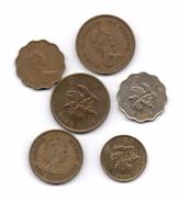 HONG KONG - Coleccion Monedas - 6 Diferentes - Hong Kong