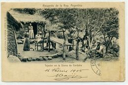 ARGENTINE - Recuerdo De La République Argentina - Tejedor En La Sierra De Cordoba. - Argentina